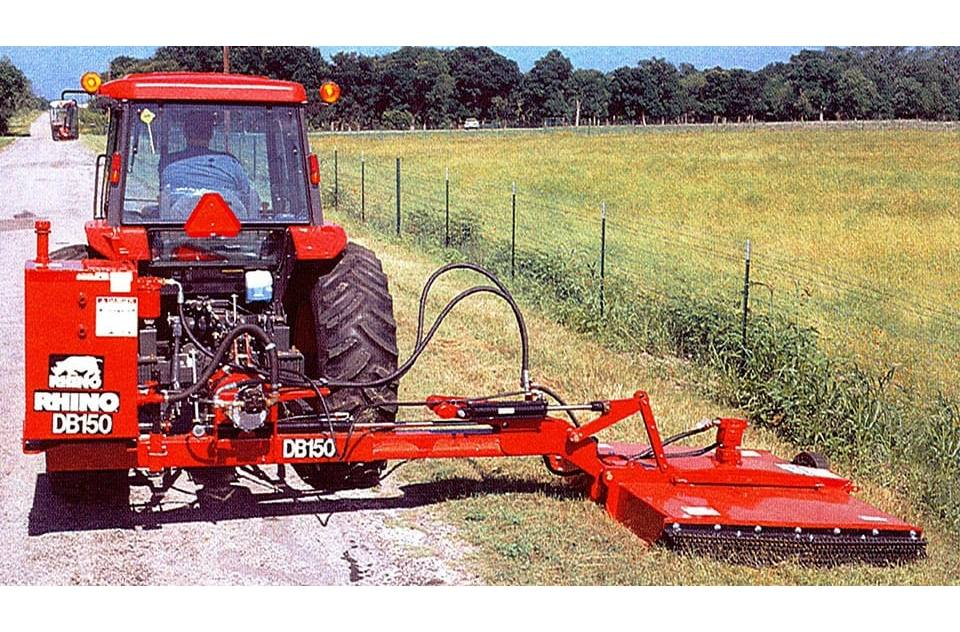 Agricultural Mowers from RhinoAg Normangee Tractor & Impl
