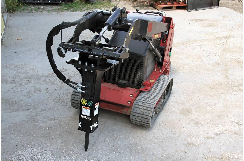 2019 Erskine Attachments 210X Mini Hydraulic Breaker for