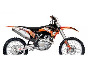 KTM ORANGE BRIGADE GRAPHICS KIT