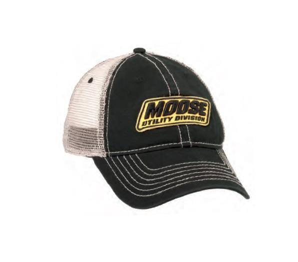 Moose Racing Moose Utility Division Snapback Hat Mud Black//White
