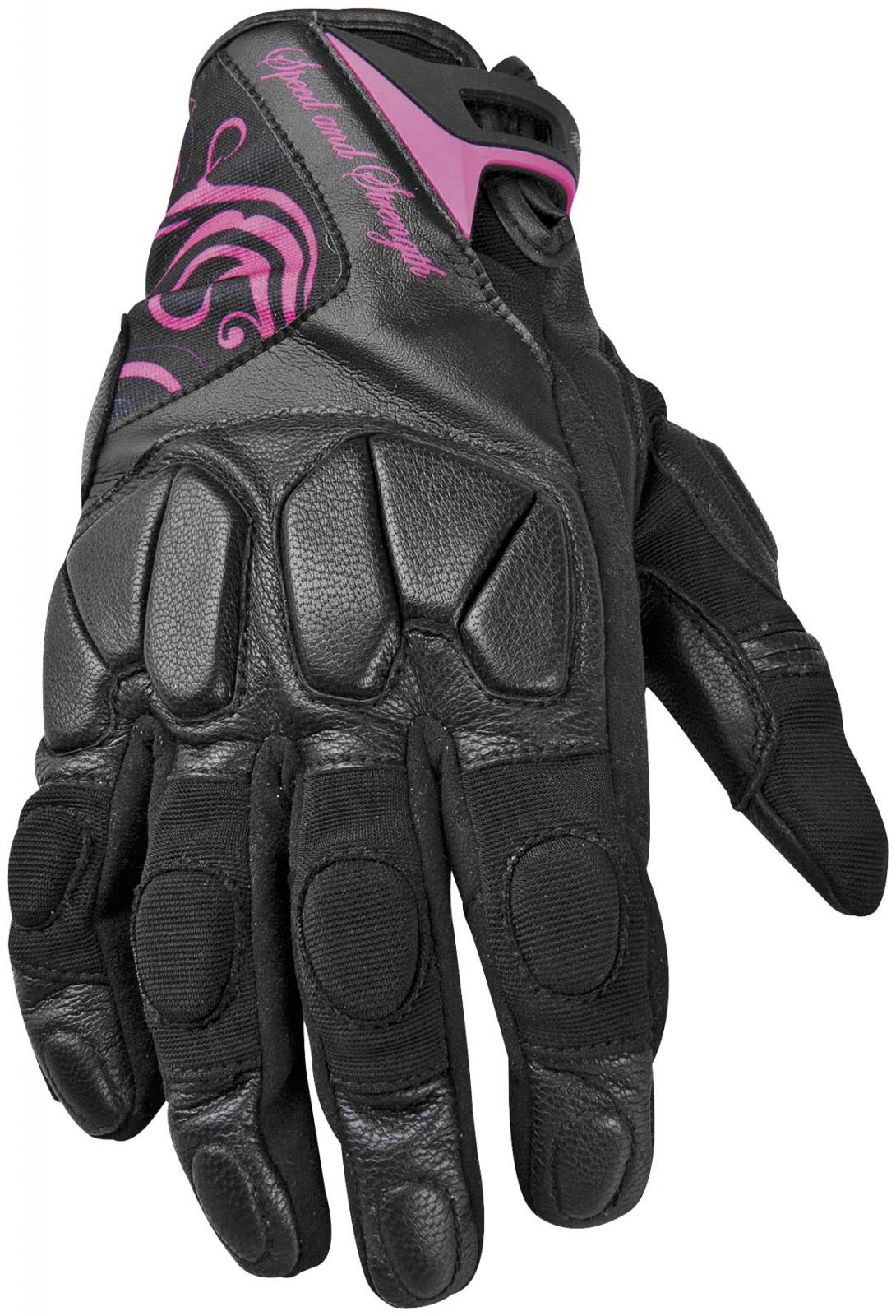 Ladies leather gloves xl - Cat Outa Hell Leather And Textile Womens Gloves For Sale In Covington Oh Tike S Cycle Shop 888 341 1138