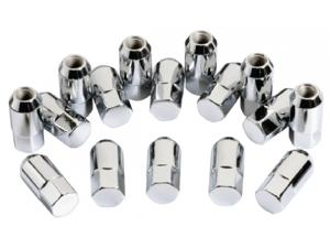 LUG NUTS FOR ALUMINUM RIMS