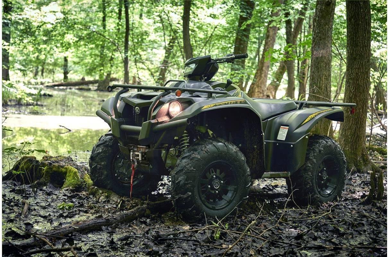 2020 Yamaha Kodiak 700 EPS SE - Titanium Bronze/Tactical Black