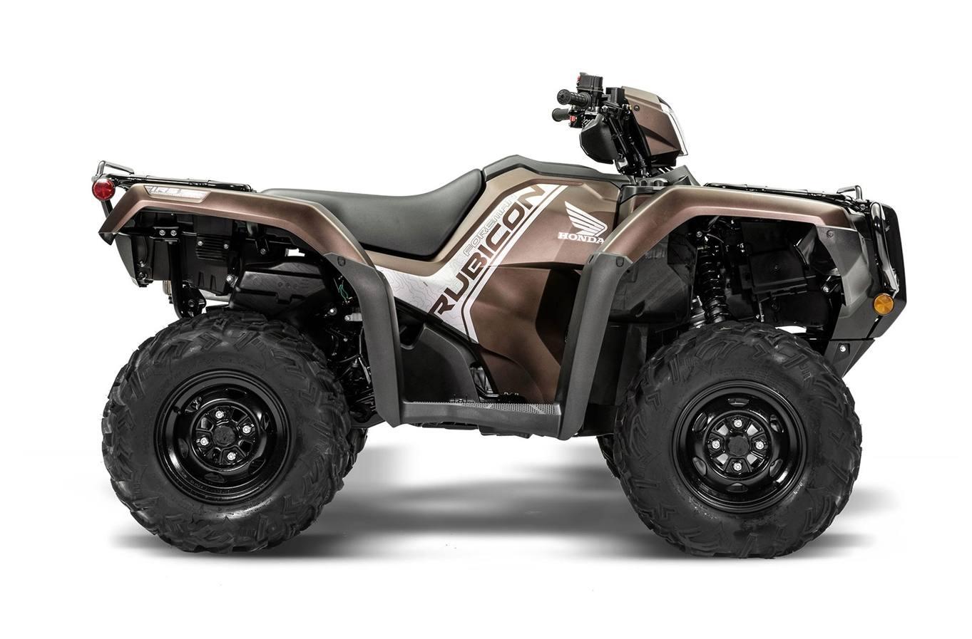 2020 Honda Rubicon 520 IRS EPS - Molasses Brown Metallic