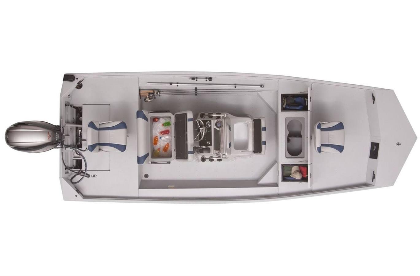 2020 g3 gator tough 18 cct dlx (prop tunnel hull)
