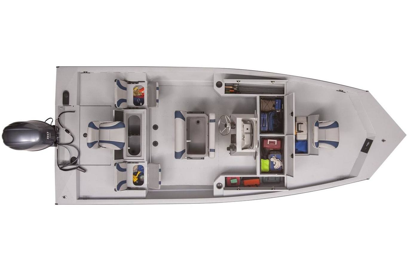 2020 g3 gator tough 20 ccj dlx (jet hull tunnel)