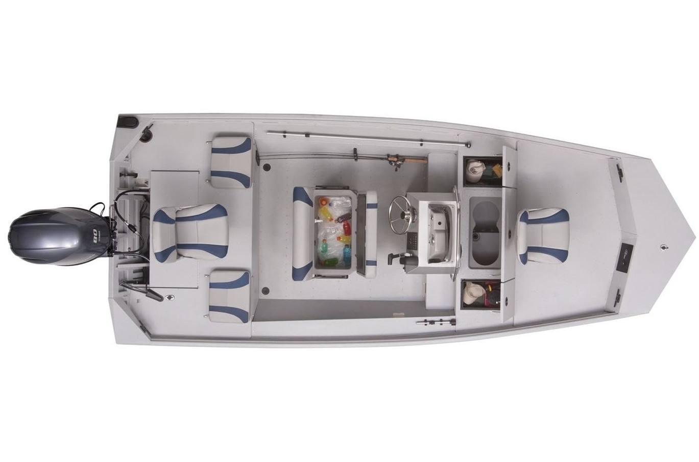 2020 g3 gator tough 17 ccj dlx (jet tunnel hull)