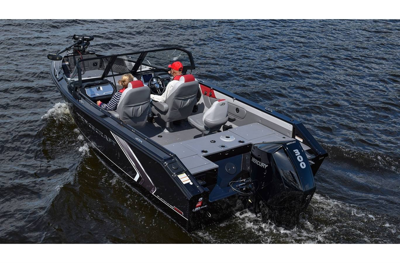4x Red LED Boat Light Waterproof 12v Deck Princecraft Vogue 27 SE