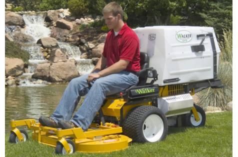 2010 Walker Mowers Model MT Tractor w/48 in  GHS-Kohler 23 hp