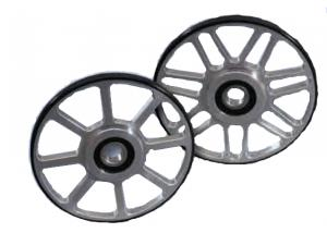MESH SPOKE BILLET WHEELS