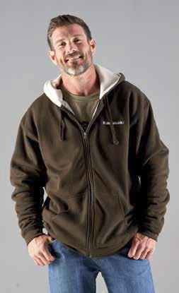Outdoor Zip-Front Sherpa Sweatshirt