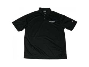 TRIUMPH BY NIKE BLACK POLO