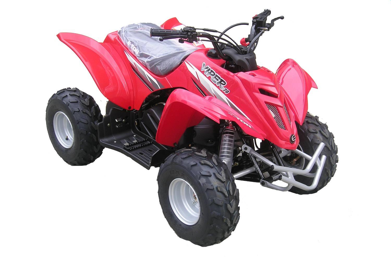 Red - Viper 70 Model Shown