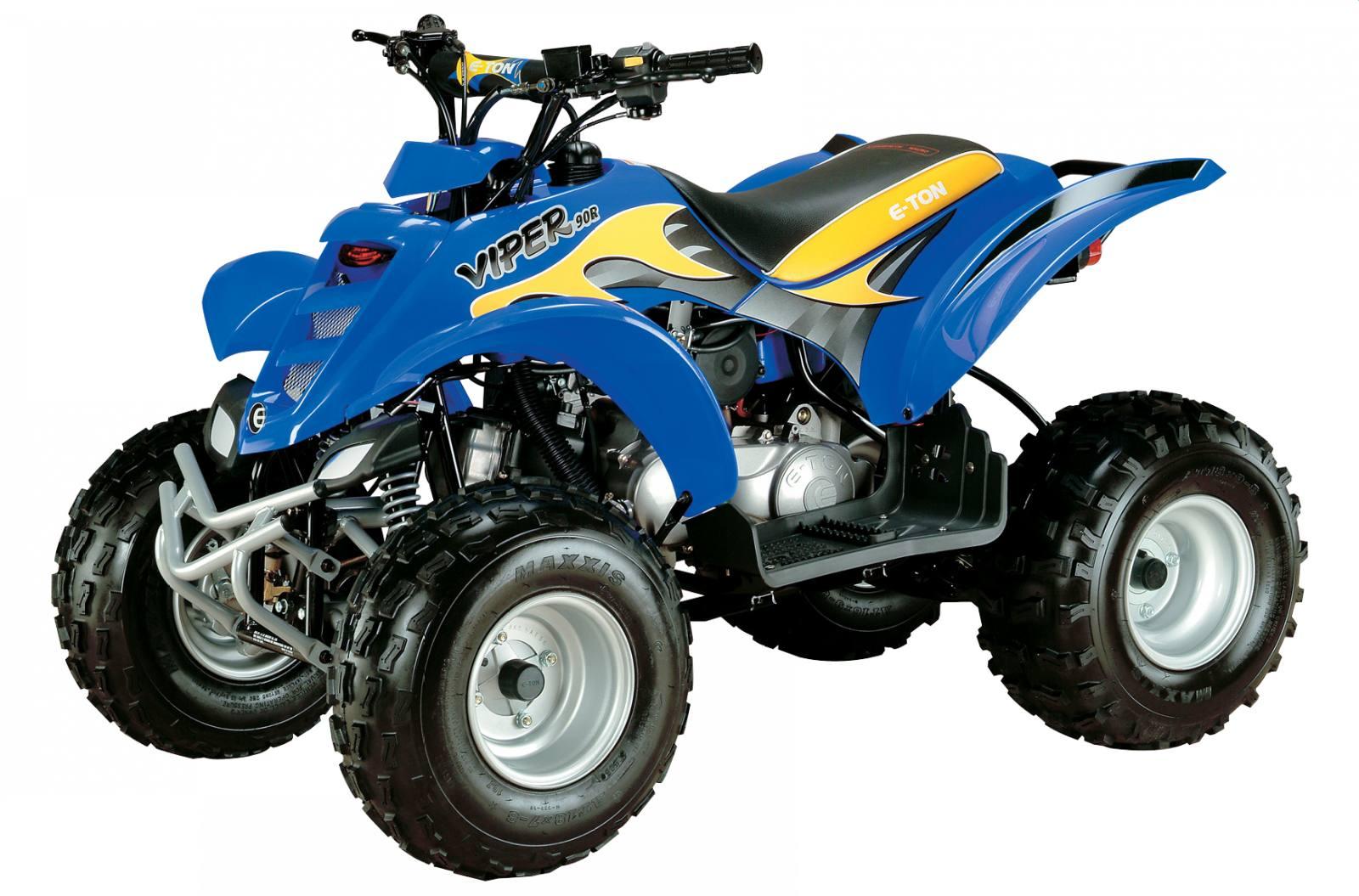 Blue - Viper 90R Model Shown