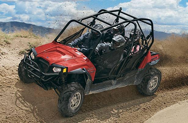 2012 Polaris Industries Ranger RZR® 4 800 Robby Gordon Edition