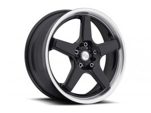 M120 NR5 Black & Machined Wheels