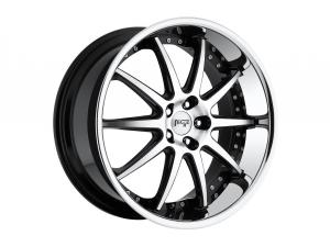 Spa M879 Wheels Black Machined Series