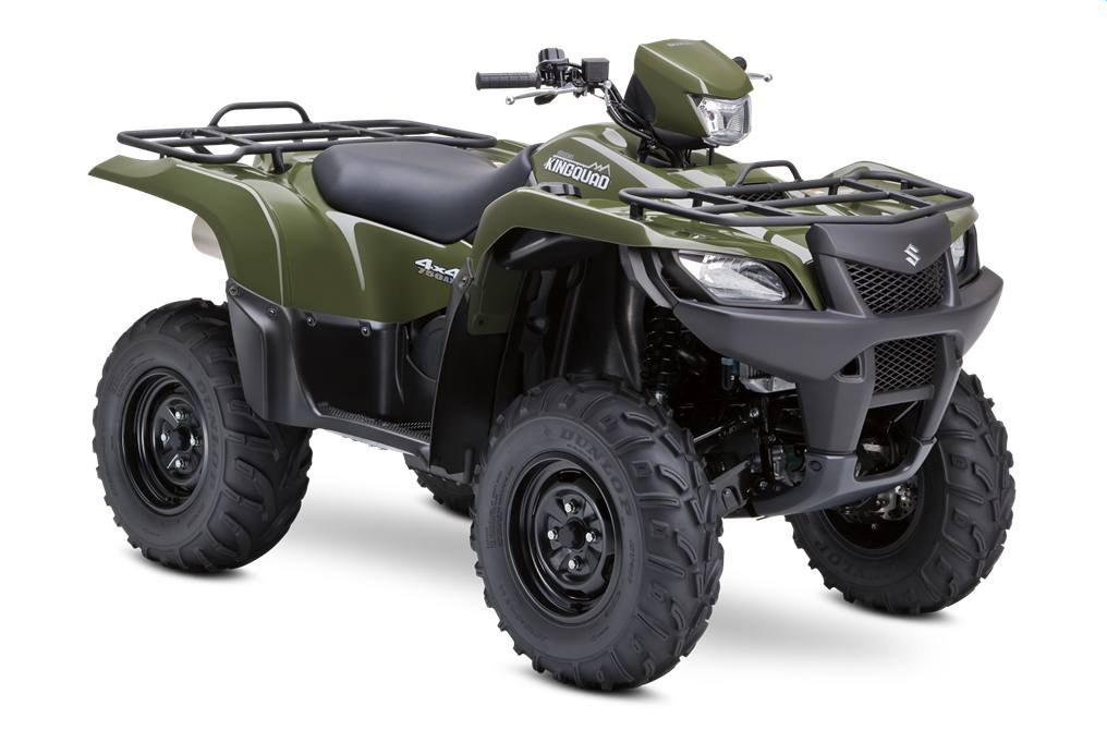 Suzuki King Quad at Dillon Cycles
