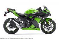 2013 Kawasaki Ninja® 300 - Lime Green / Ebony