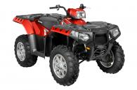 2013 Polaris Industries SPORTSMAN 550 EPS SUNSET RED