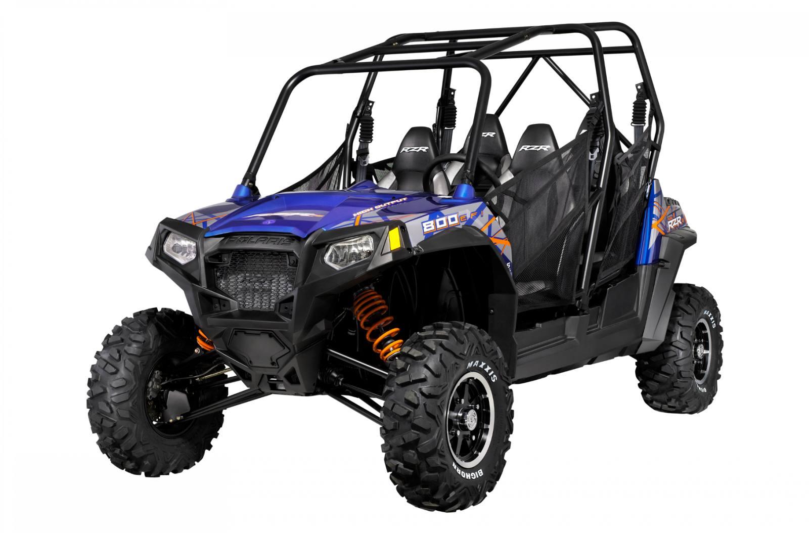 2013 Polaris Industries RZR® 4 800 EPS Blue Fire/Orange LE for sale ...