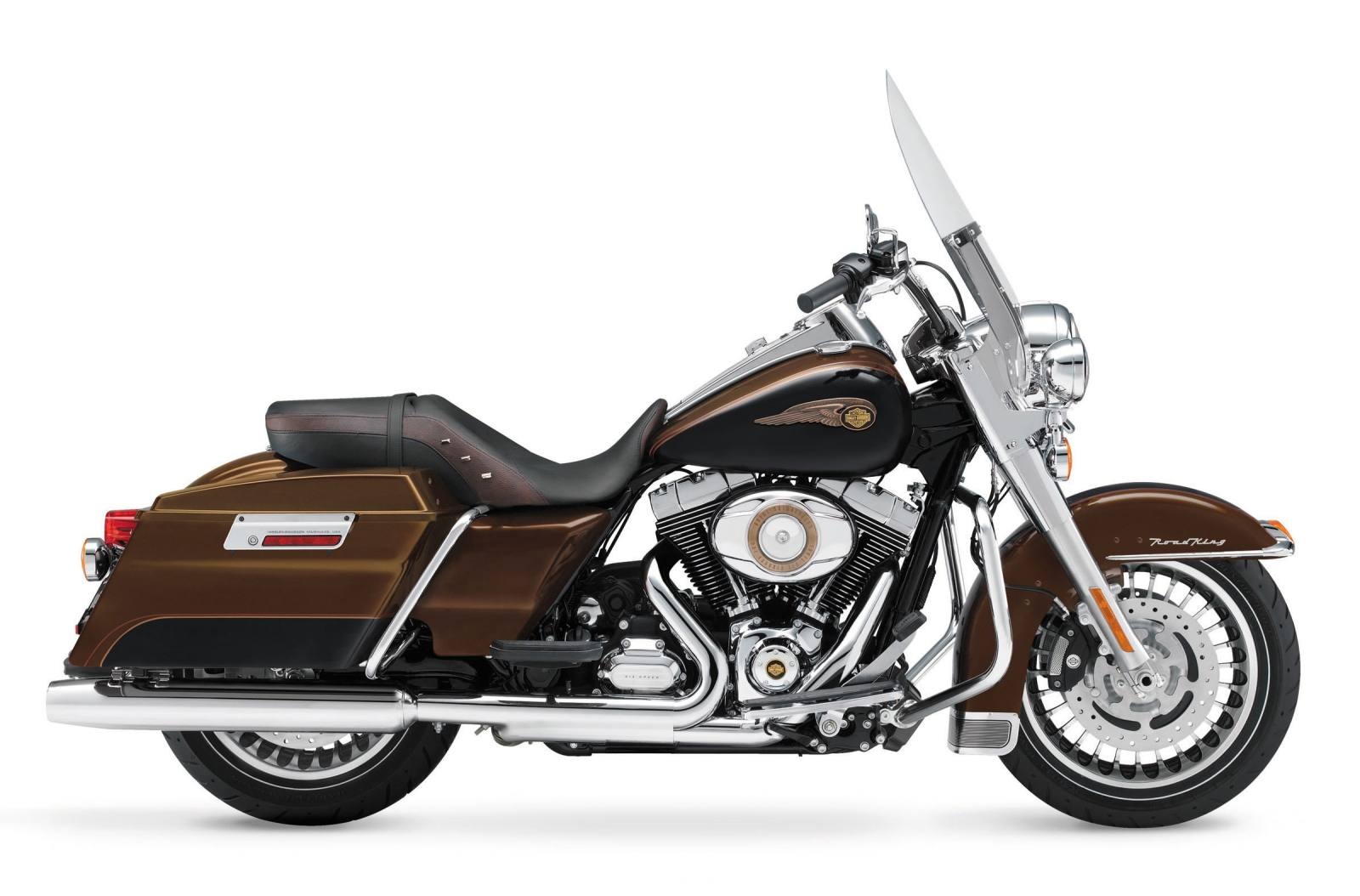 2013 Harley Davidson Flhr Road King 110th Anniversary Edition For Home Data Cable Wiring Together With Brake Cables And Vintage Bronze Black
