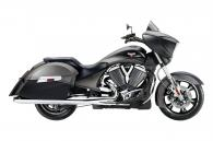 2014 Victory Motorcycles Cross Country® - Two-Tone Suede Supersteel & Black