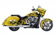 2014 Victory Motorcycles Cross Country® - Tequila Gold with Flames