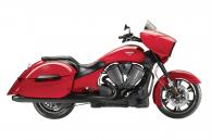 2014 Victory Motorcycles Cross Country® - Black, Havasu Red, White Metallic