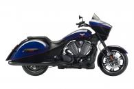 2014 Victory Motorcycles Cross Country® - Two-Tone Boss Blue & Gloss Black
