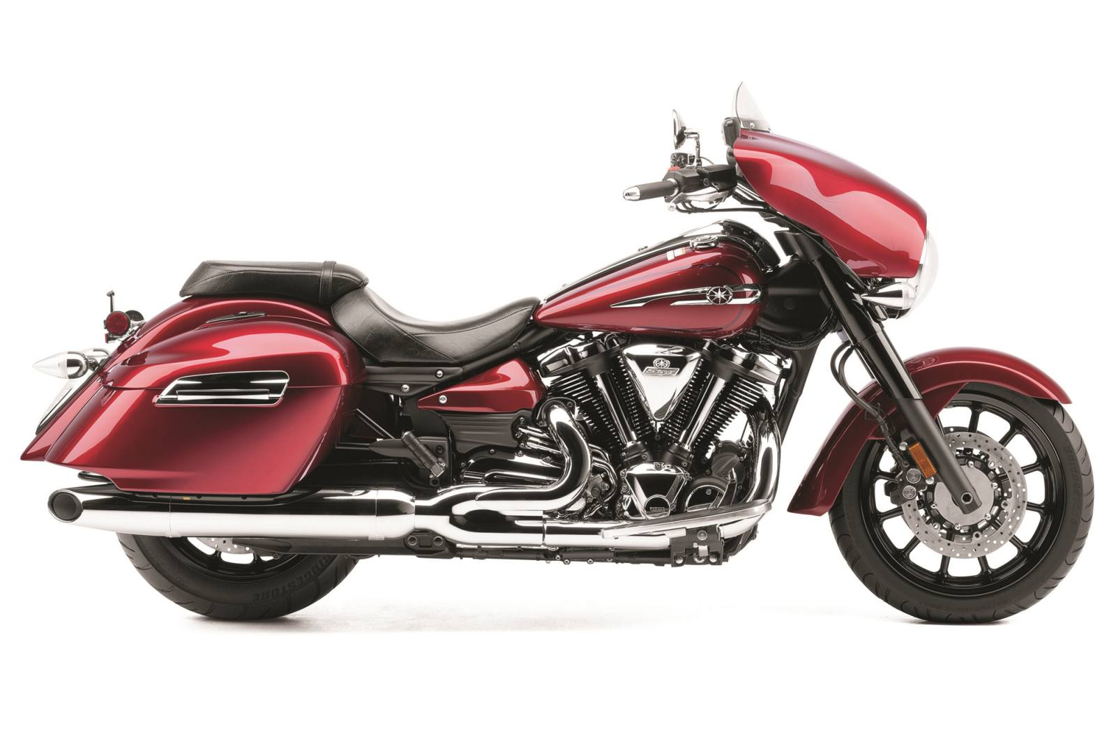2014 Yamaha Stratoliner Deluxe For Sale In West Bloomfield Ny Motorcycle Wiring Products Stock Image Crimson Red