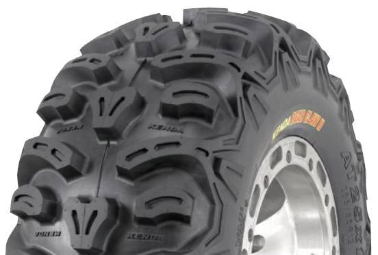 YFM550 GRIZZLY 550 Tires Tire Set Of 4 Kenda Bearclaw 25X8X12 25X10X12