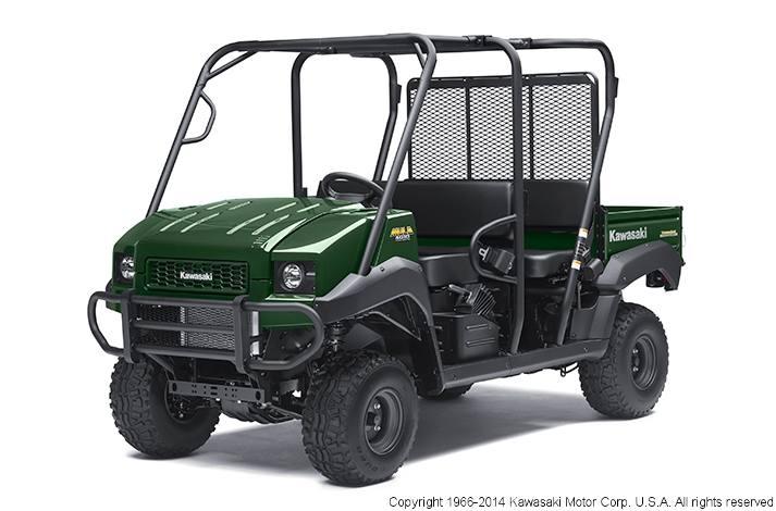 2014 Kawasaki MULE 4010 TRANS 4X4