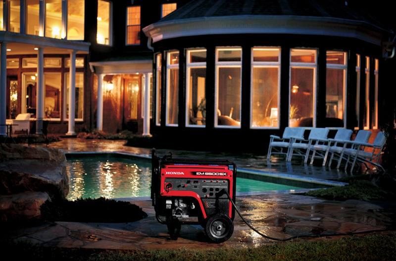 2014 honda power equipment em6500sxk2 for sale in lynchburg, va