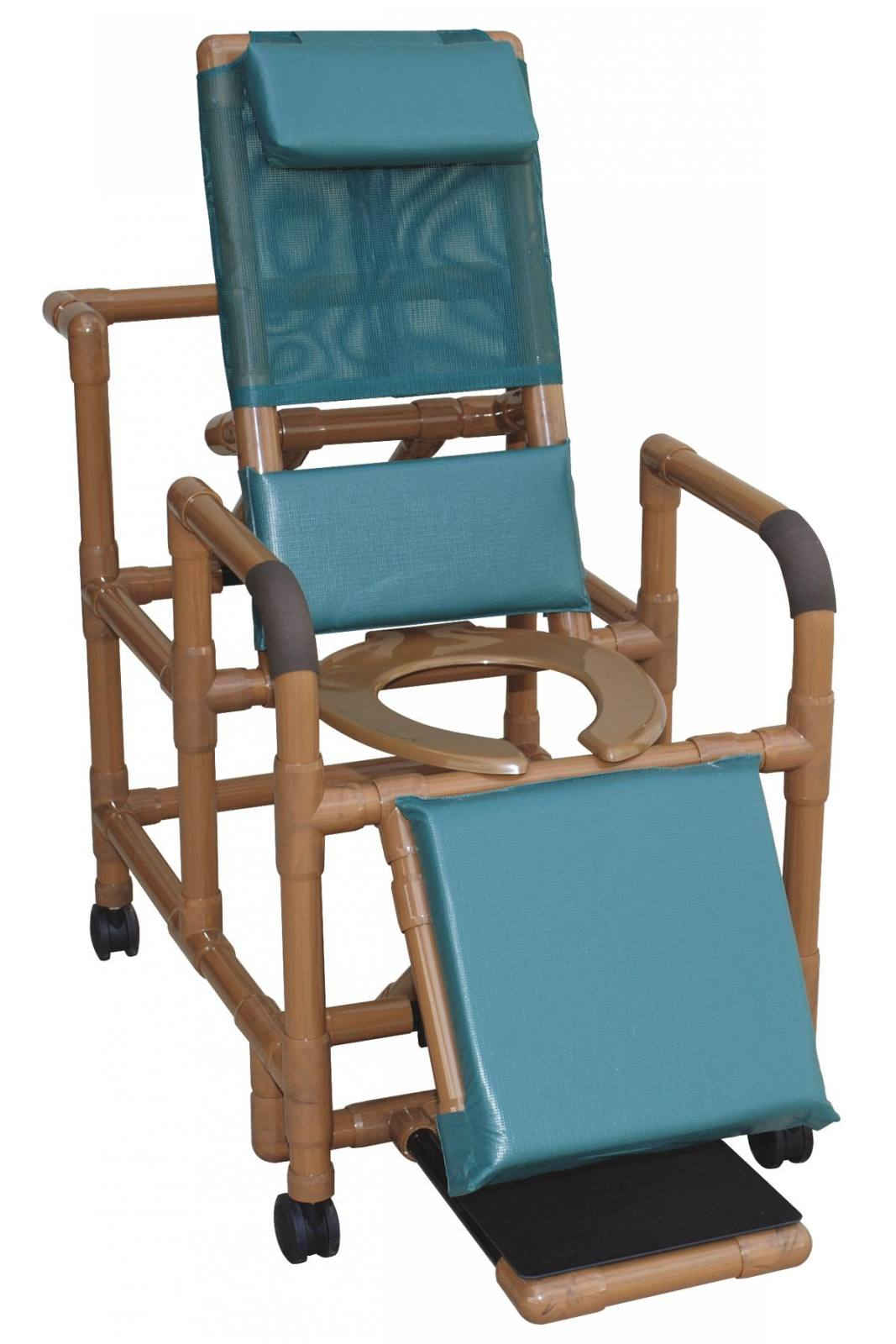 PVC WOODTONE RECLINING SHOWER CHAIR for sale in El Paso, TX | West ...