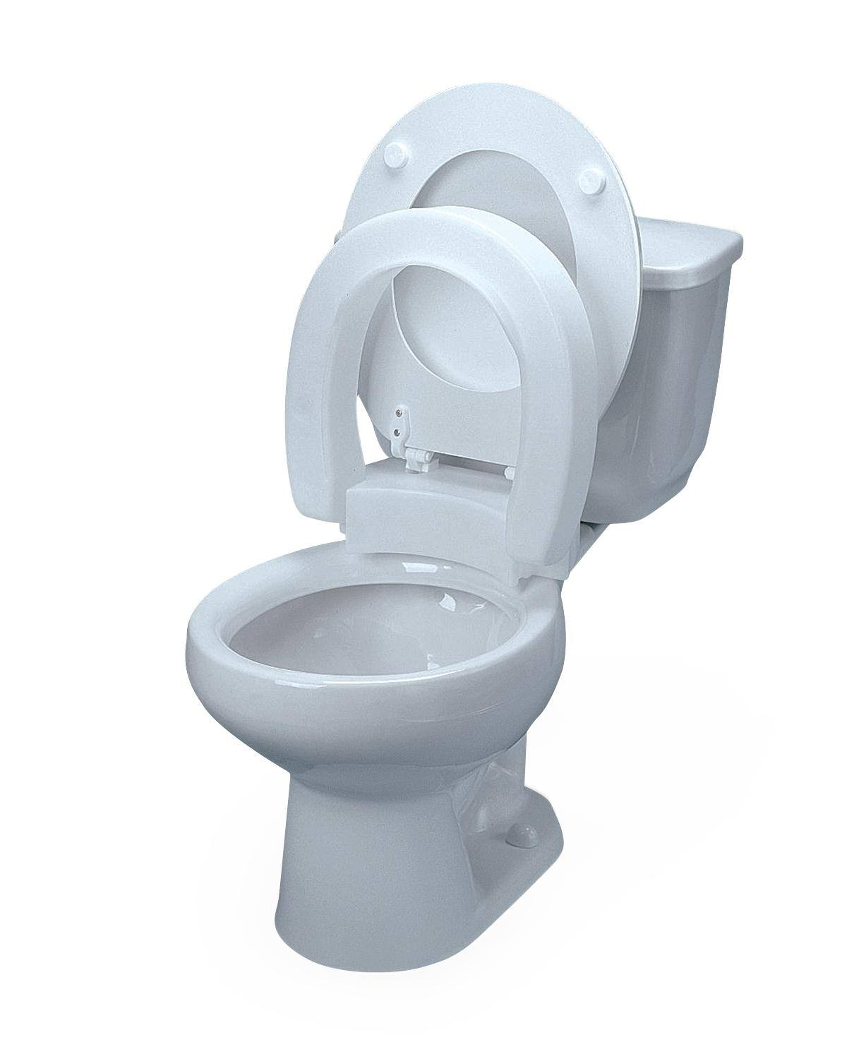 HINGED RAISED TOILET SEATS WITH LIDS for sale in Memphis, TN ...
