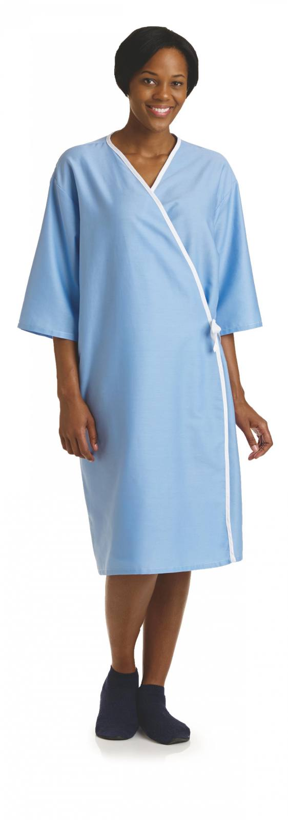 FRONT-OPENING EXAM GOWN for sale | Medical West - Clayton (800)-489-1888