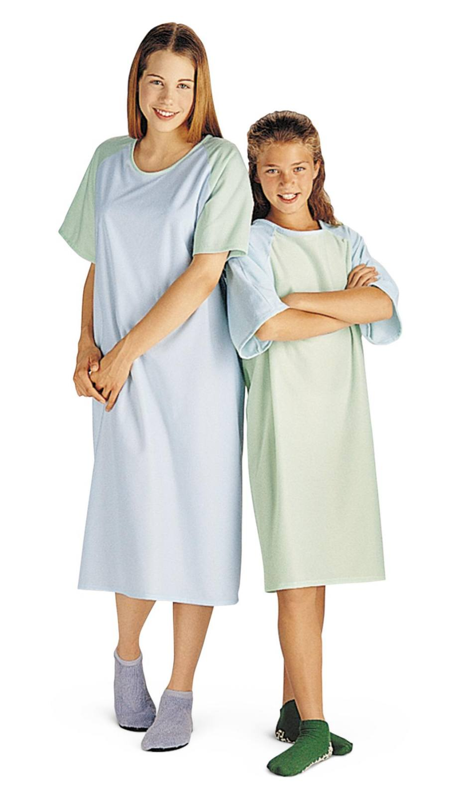 BRUSHED FLANNEL ADOLESCENT PATIENT GOWNS for sale in SAN FRANCISCO ...