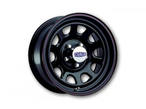 "342 Series Black ""D"" Window Wheels"