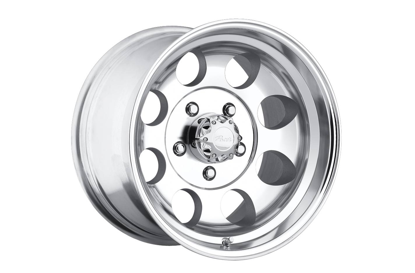 Pacer 187P WARRIOR 187P-5886 Single Rim 15X8-19mm OFFSET 6X114.3 Polished