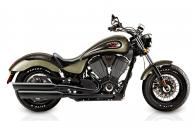 2015 Victory Motorcycles Victory Gunner - Suede Green Metallic with Black