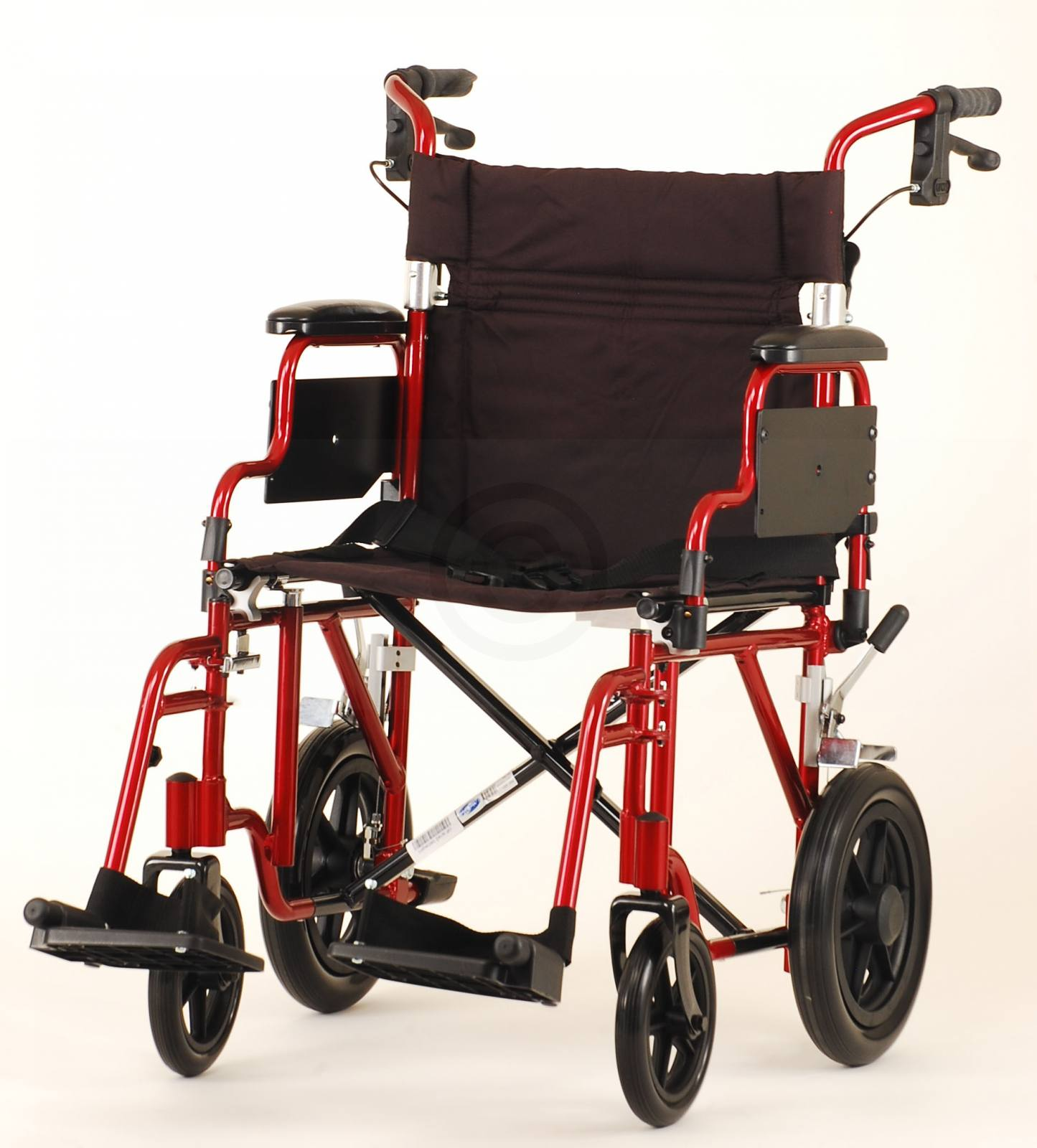 19 INCH TRANSPORT CHAIR WITH 12  REAR WHEELS for sale | Headquarters (888) 848-4077  sc 1 st  James Medical & 19 INCH TRANSPORT CHAIR WITH 12