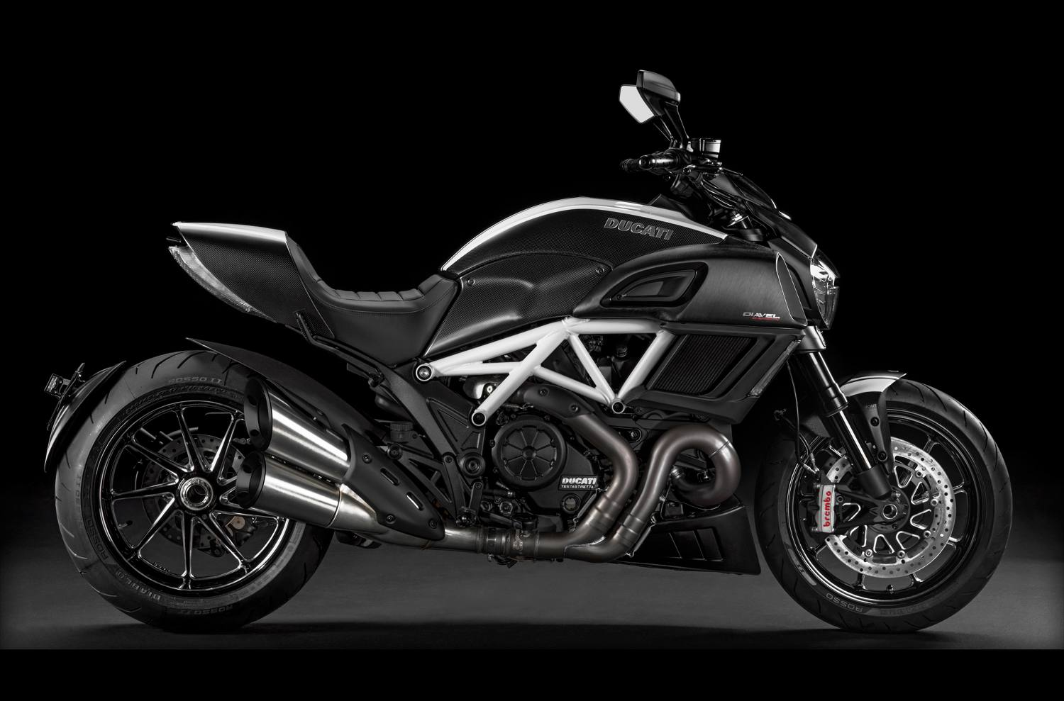 2015 Ducati Diavel Carbon Star White And Matt Carbon For Sale In