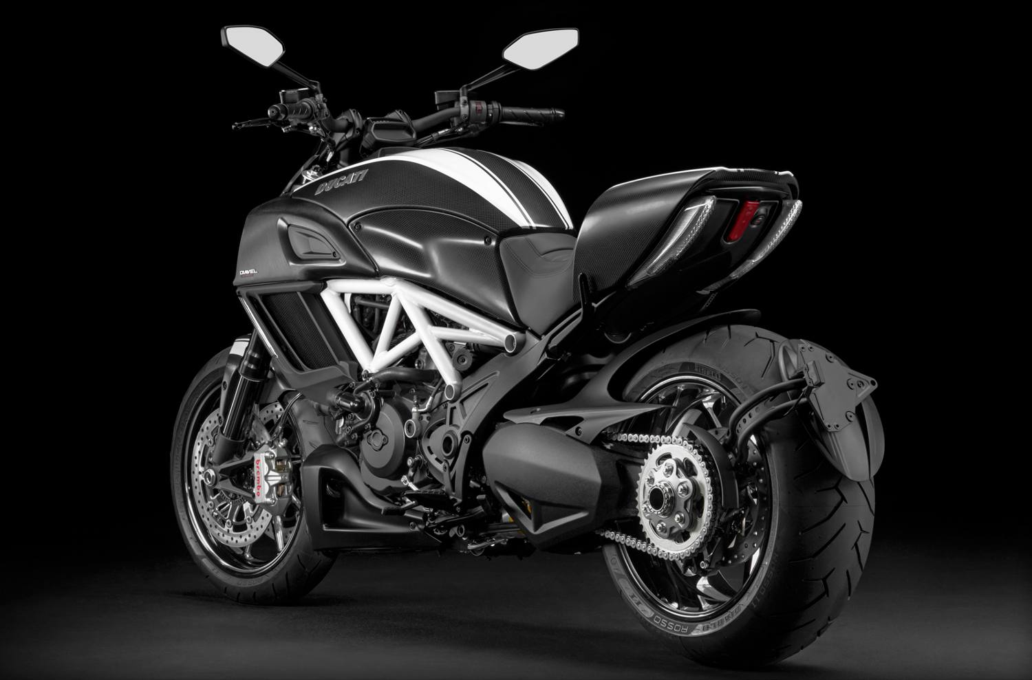 Ducati Diavel Carbon pics specs and information