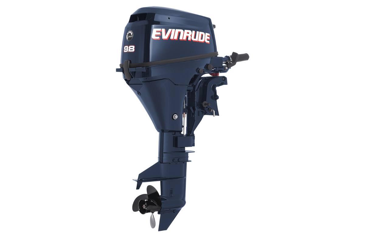 "2015 Evinrude E10R4 9.8HP, 15"" Shaft, Remote Steer, Manual Trim. Call for  Price"