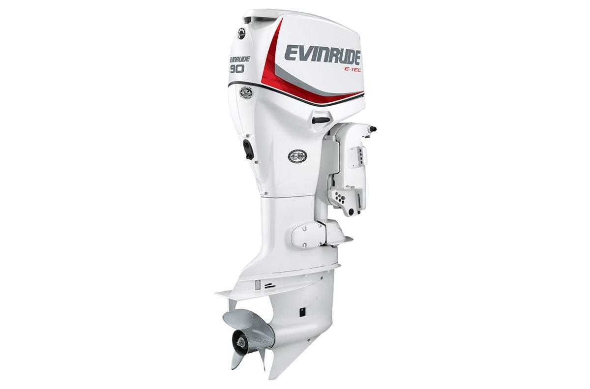 2015 Evinrude E90DSL - 90-HP White, 20