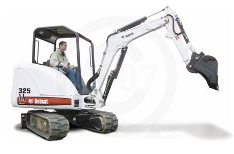 2007 Bobcat 325 Compact Excavator Kauffman Sales & Rental DBA