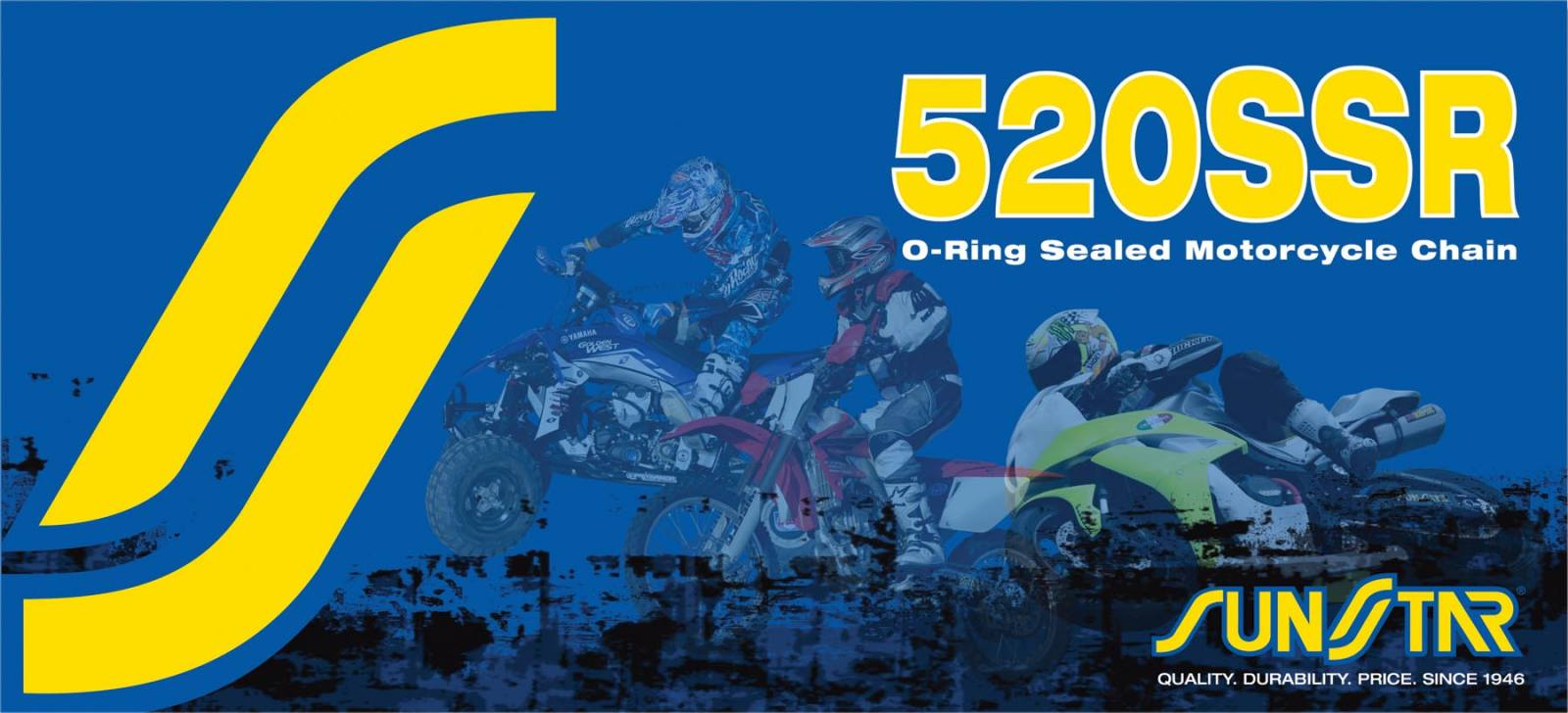 520SSR Sealed O-Ring Chain
