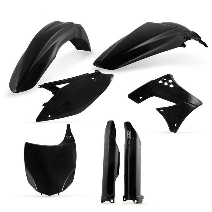 Full Plastic Kit Acerbis Black 2314180001 for Kawasaki KX250F 2013-2014