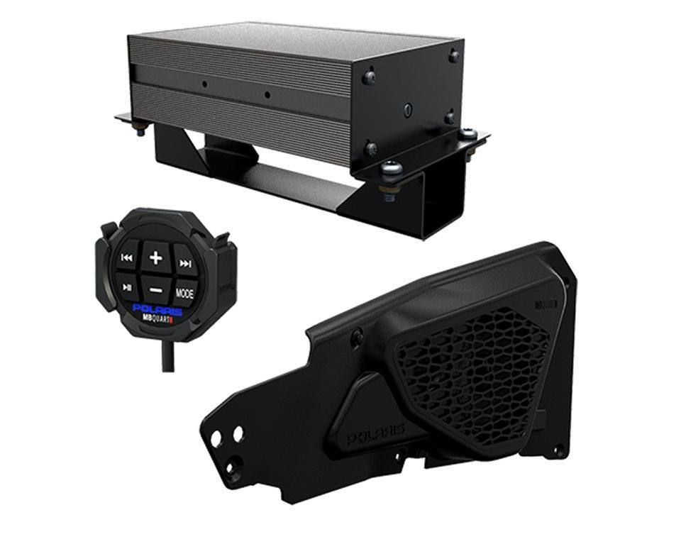 Door Speaker and Bluetooth Remote Bundle